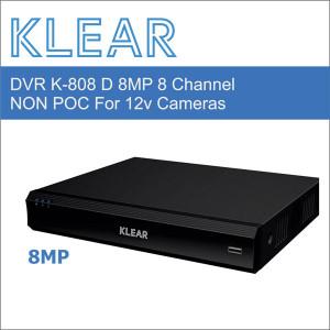 Klear K-808 D - 8 Channel...