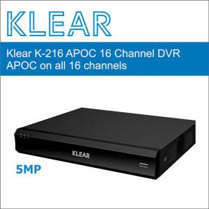 Klear K-216 APOC DVR