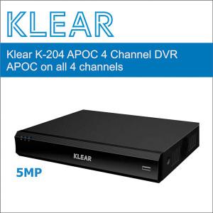 Klear K-204 APOC DVR